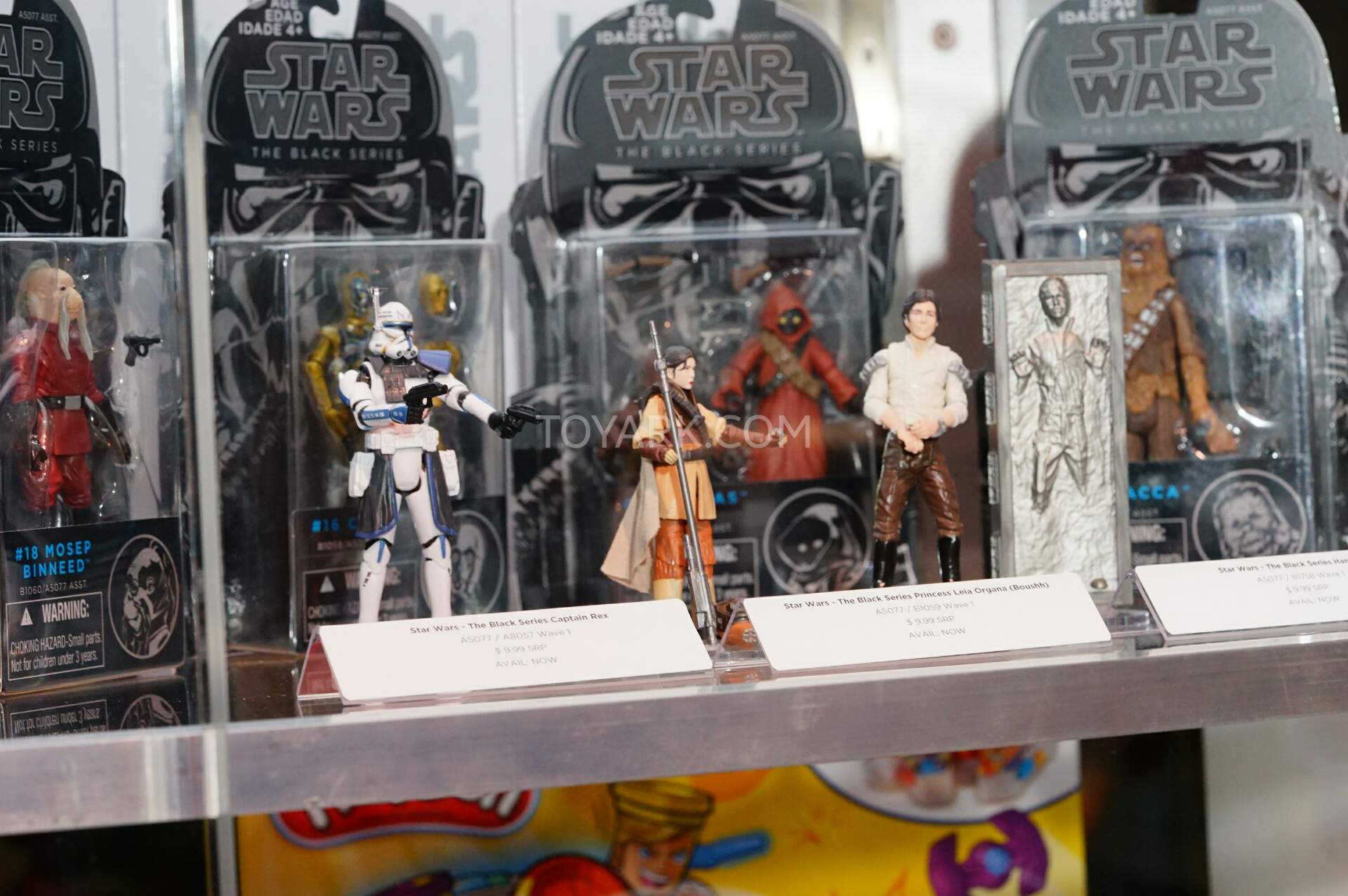 sdcc 2015 hasbro star wars preview night booth display. Black Bedroom Furniture Sets. Home Design Ideas