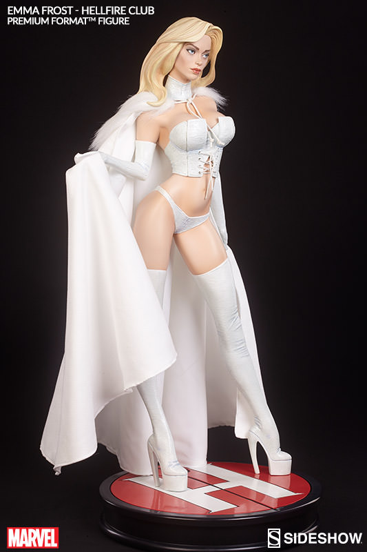 Sideshow Releases Emma Frost Statue Official Pics and Info