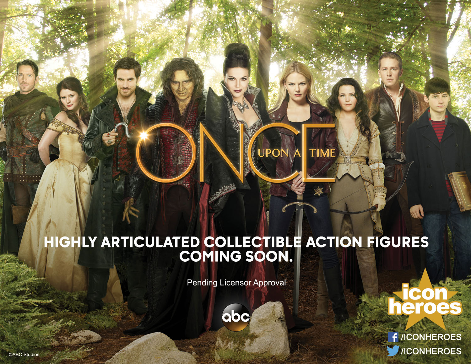 Once Upon a Time Gets Lost Actor, Long-Absent Once Alum