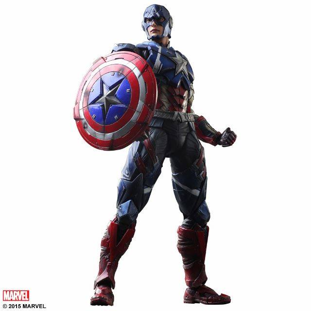 Onwijs More Photos of Play Arts Variant Captain America - The Toyark - News YP-42