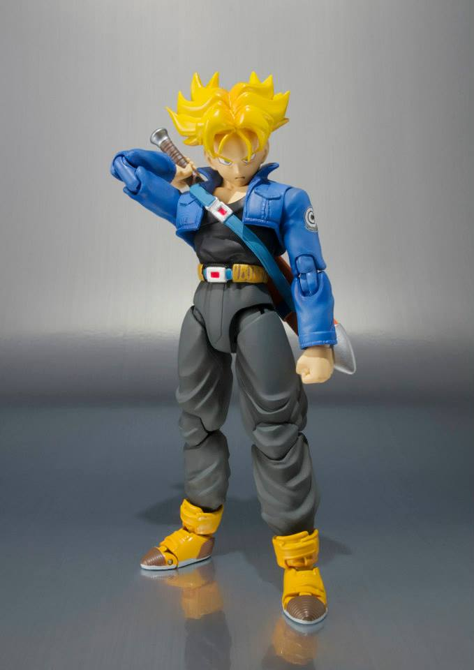 dragon ball z trunks premium color sh figuarts the