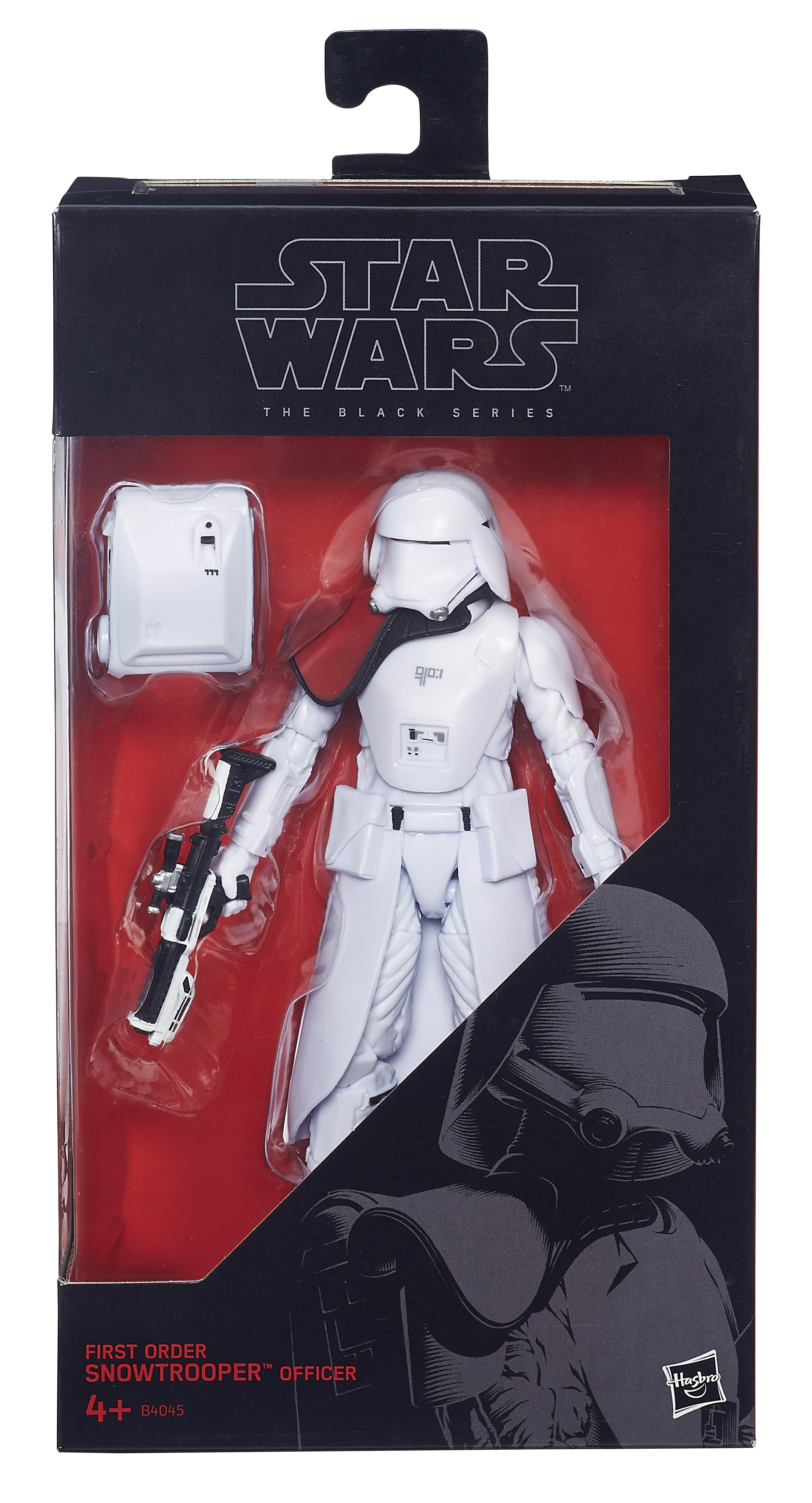 """STAR WARS BLACK SERIES FIRST ORDER OFFICER TOYS R US EXCLUSIVE 6/"""" SCALE LOOSE"""