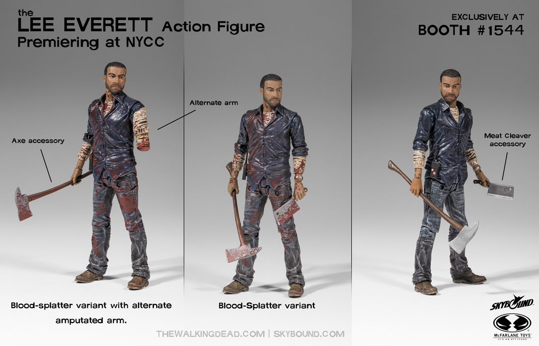 Lee Everett Figure From Walking Dead Video Game The