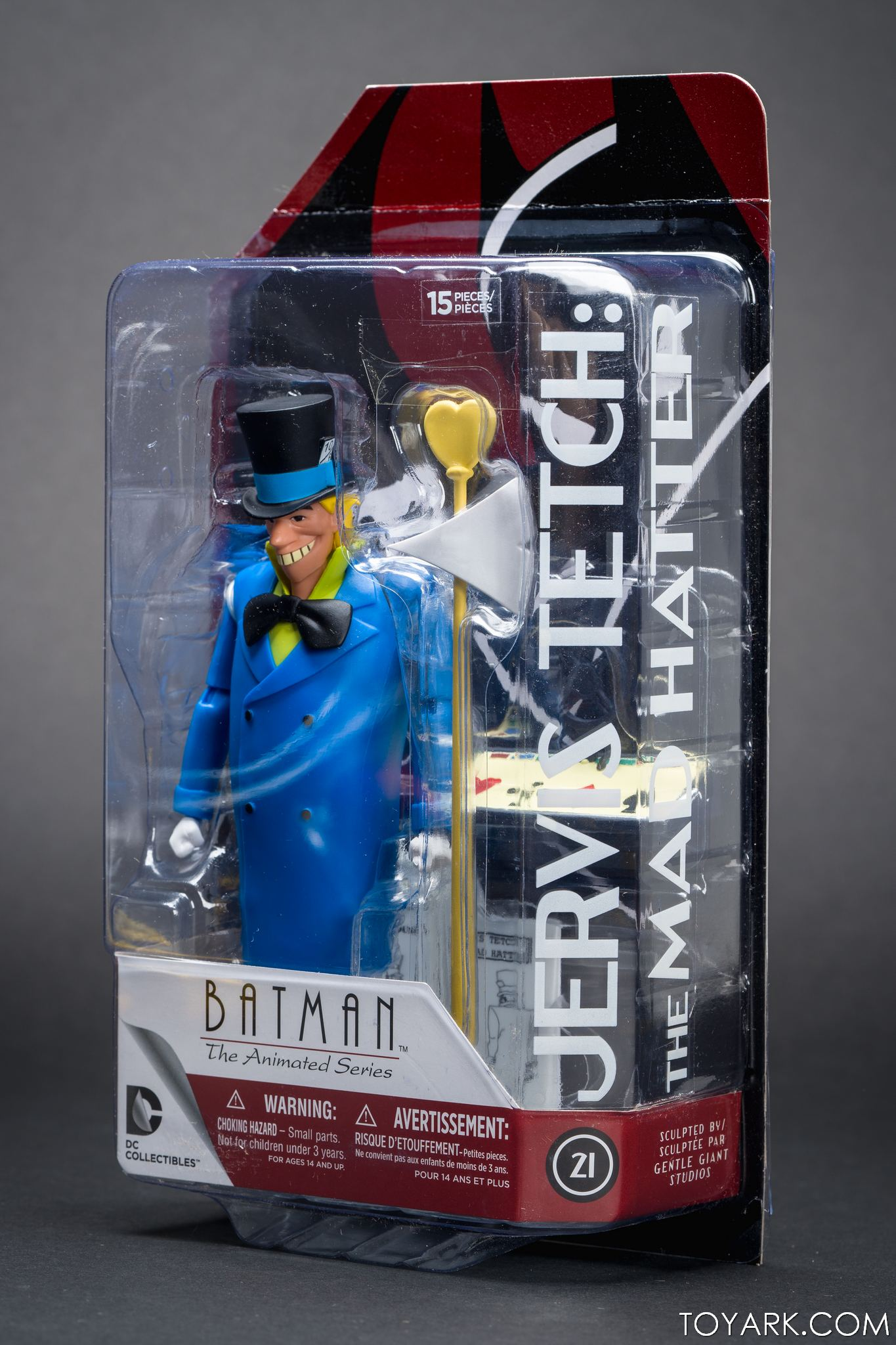 DC Comics #21 Jervis Tetch Mad Hatter BATMAN the animated series action figure