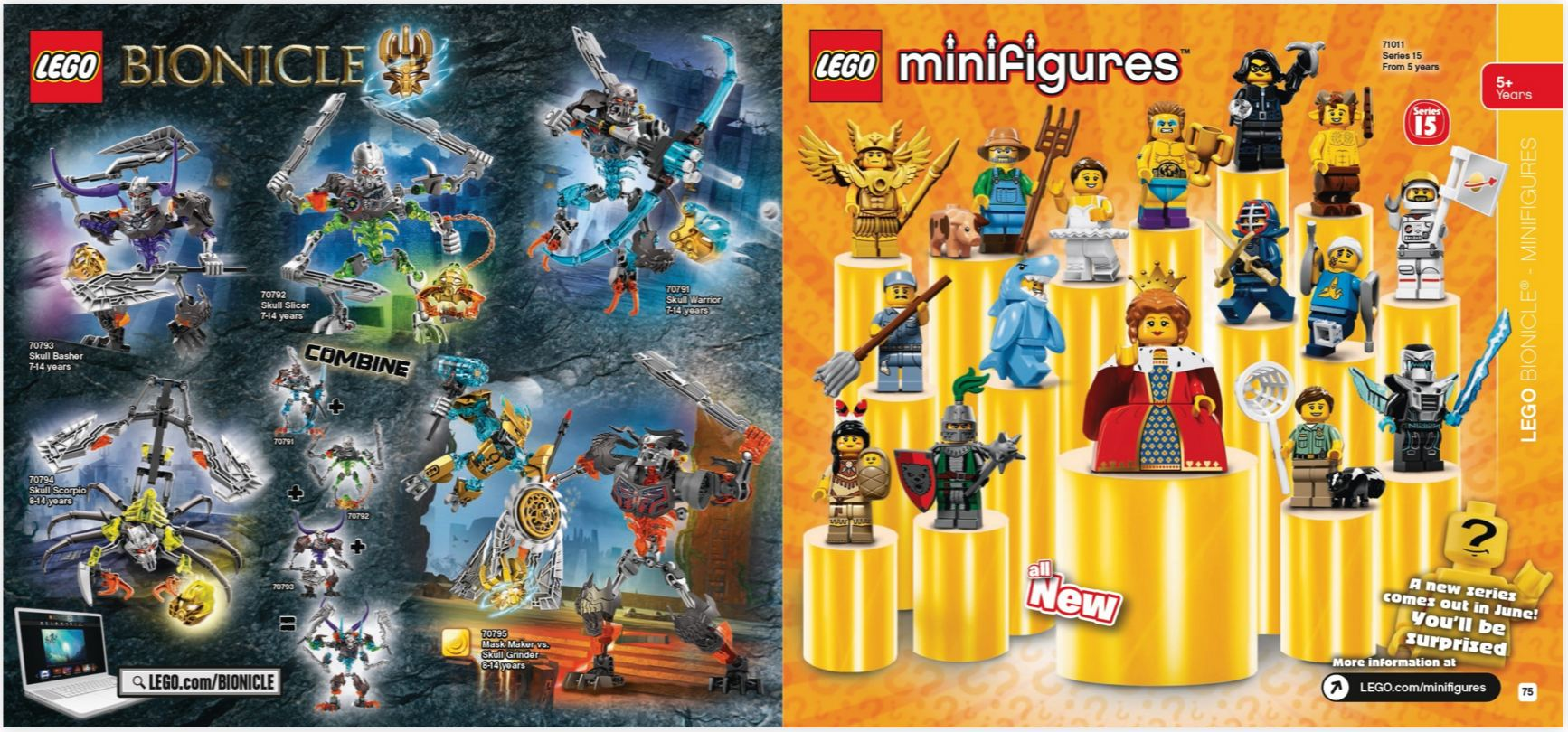 Lego Spring 2016 Catalog Images The Toyark News Bionicle Skull Scorpio 70794 Star Wars Super Heroes 003