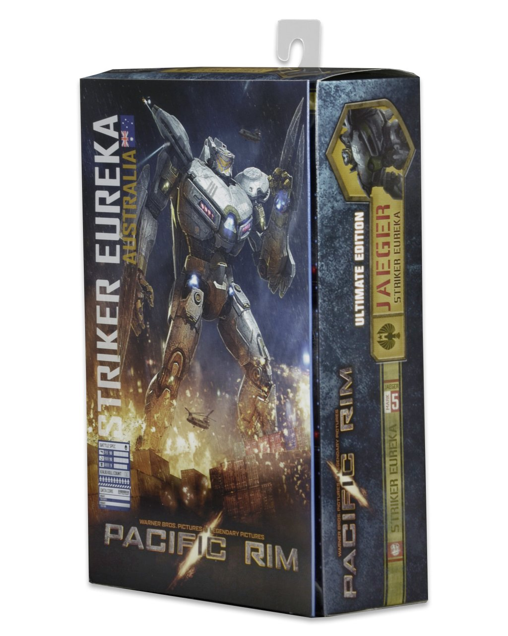 Packaging For Pacific Rim Striker Eureka Ultimate Figure