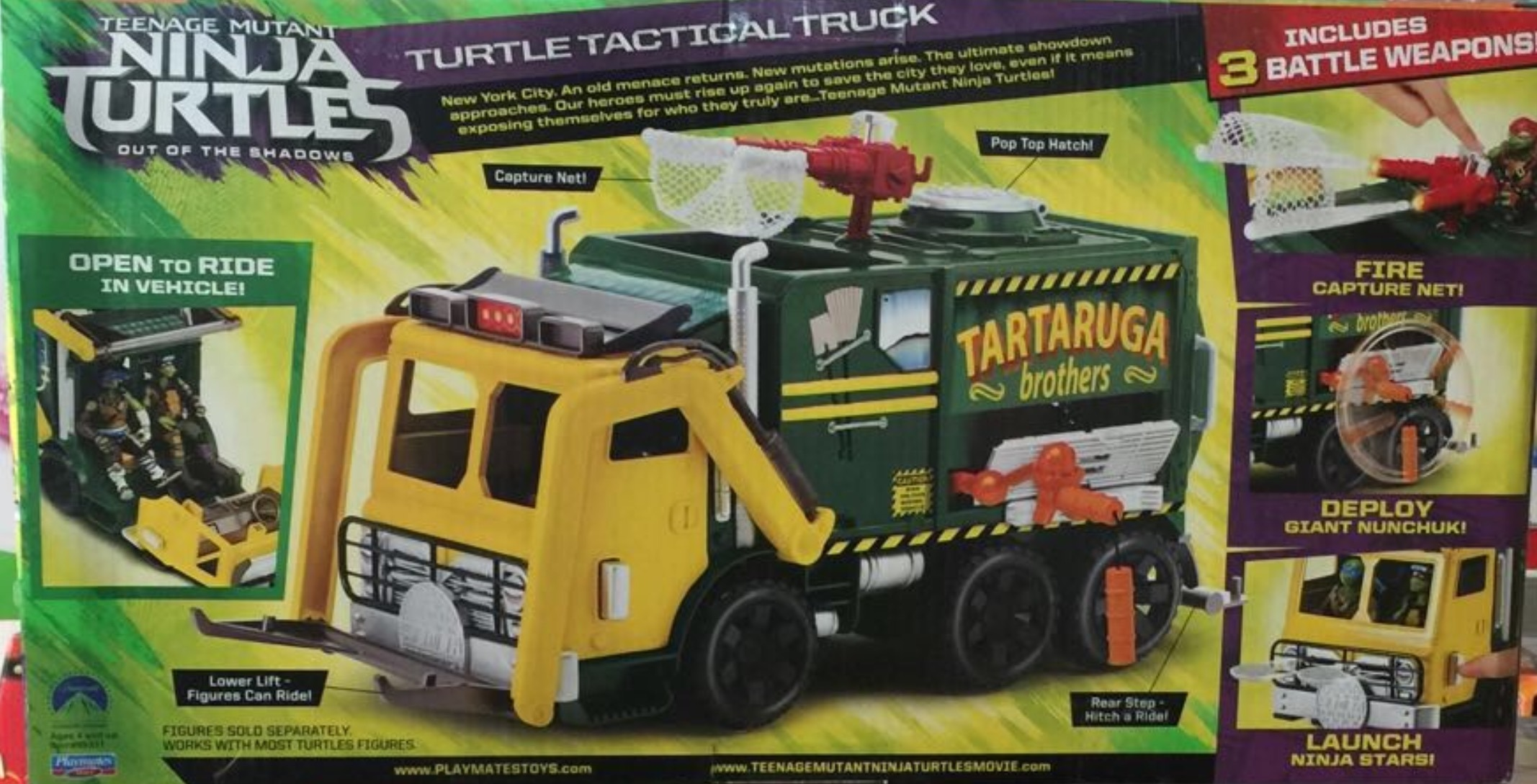 More New TMNT Out of the Shadows Toys Revealed The Toyark News