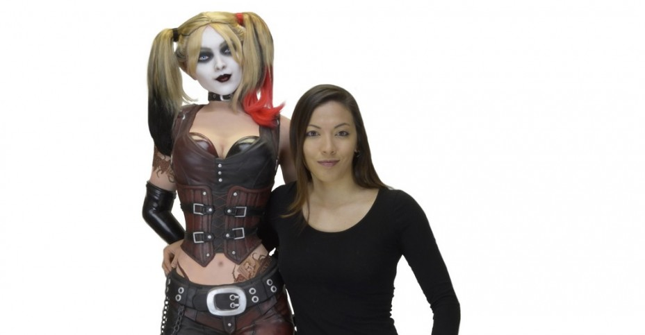 b9325c6215a8 NECA Batman  Arkham City - Life Size Foam Harley Quinn - The Toyark ...