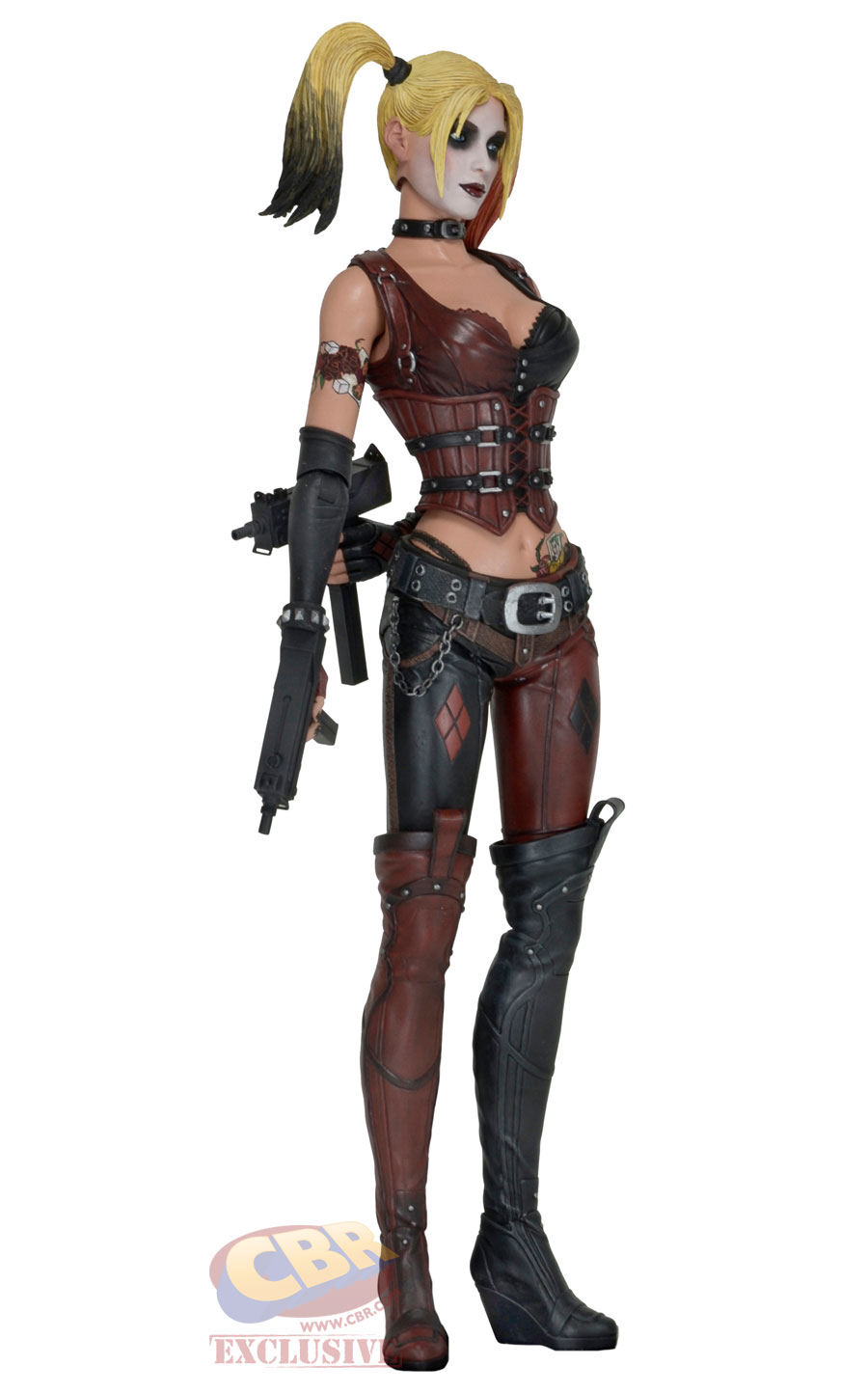 c884a0a0ff48 NECA Batman  Arkham City Harley Quinn 1 4 Scale Figure - The Toyark ...