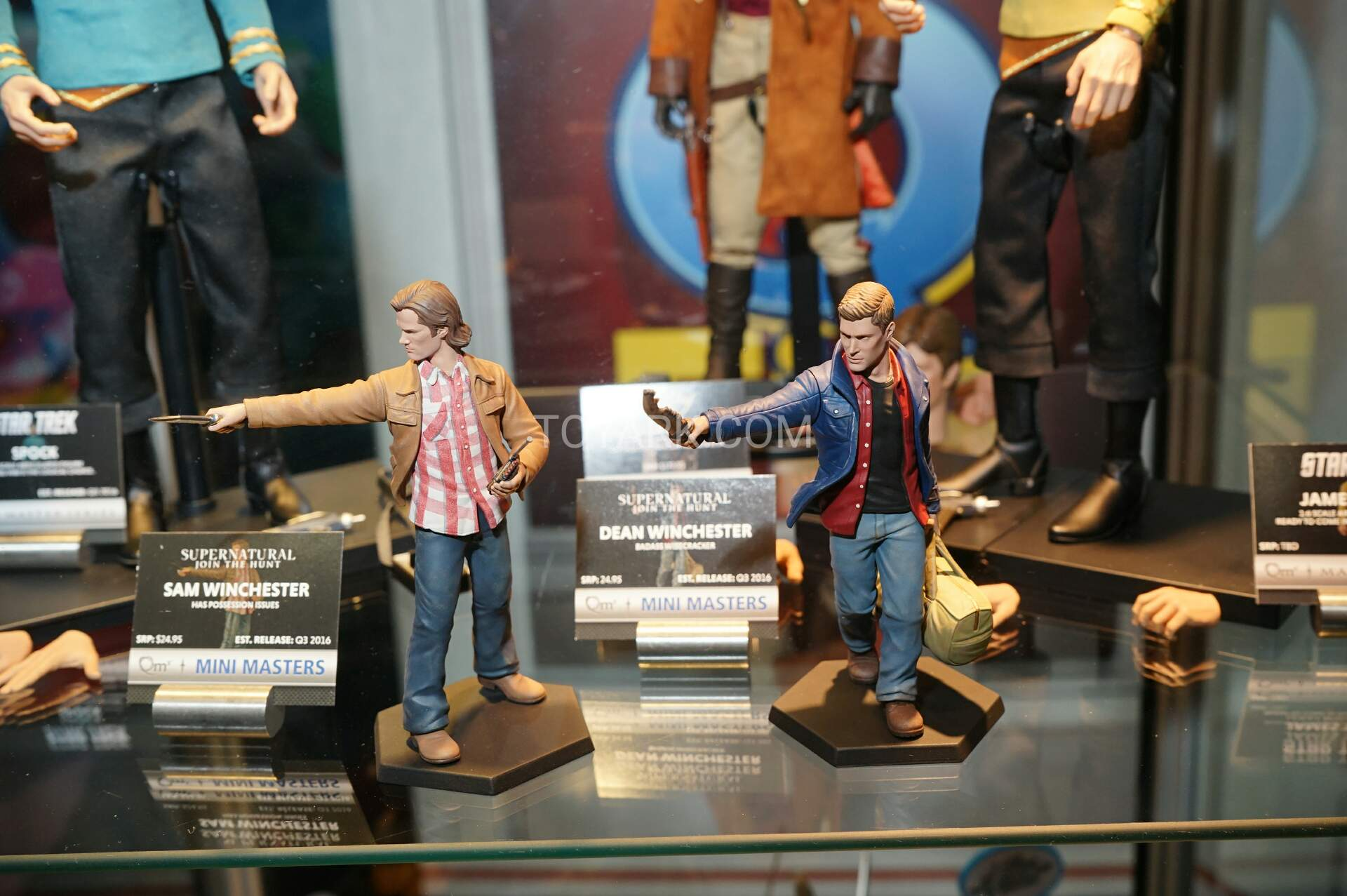 Toy Fair 2016 - QMX - Star Trek, Firefly and More - The