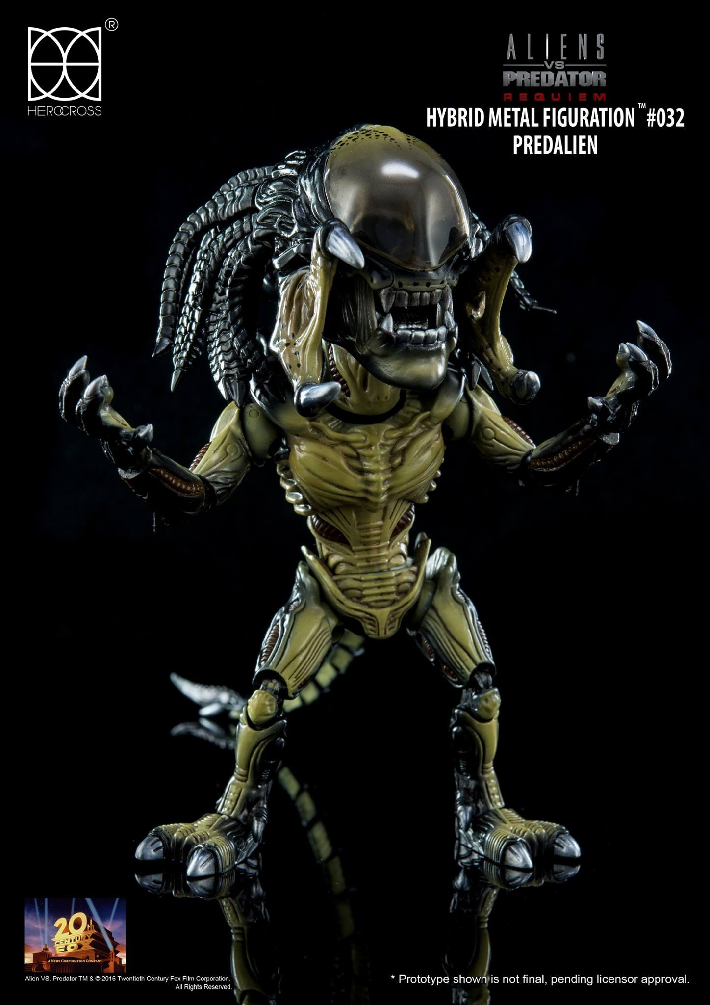 Hybrid Metal Figuration AvP Predalien by HEROCROSS - The