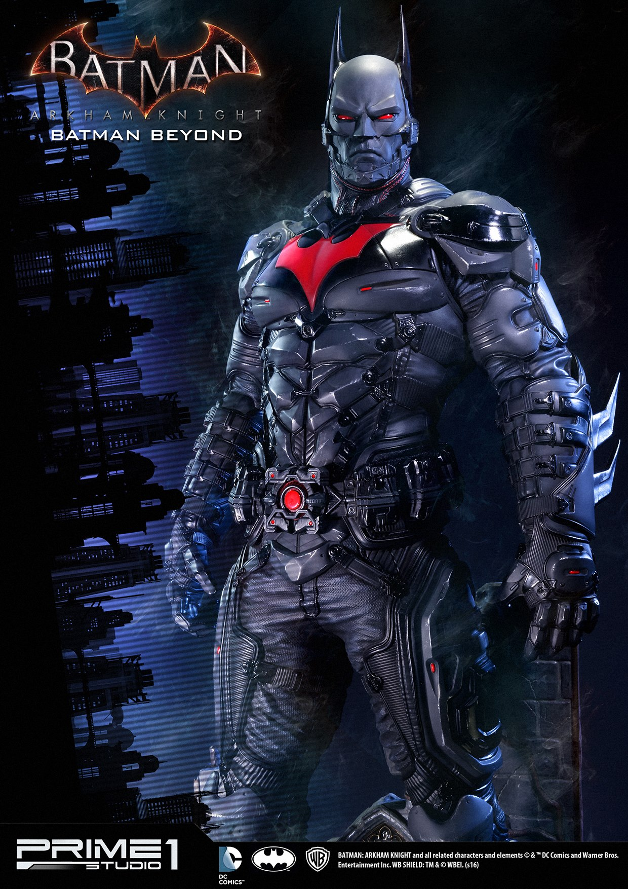 Batman Arkham Knight Batman Beyond Costume Statue The Toyark News
