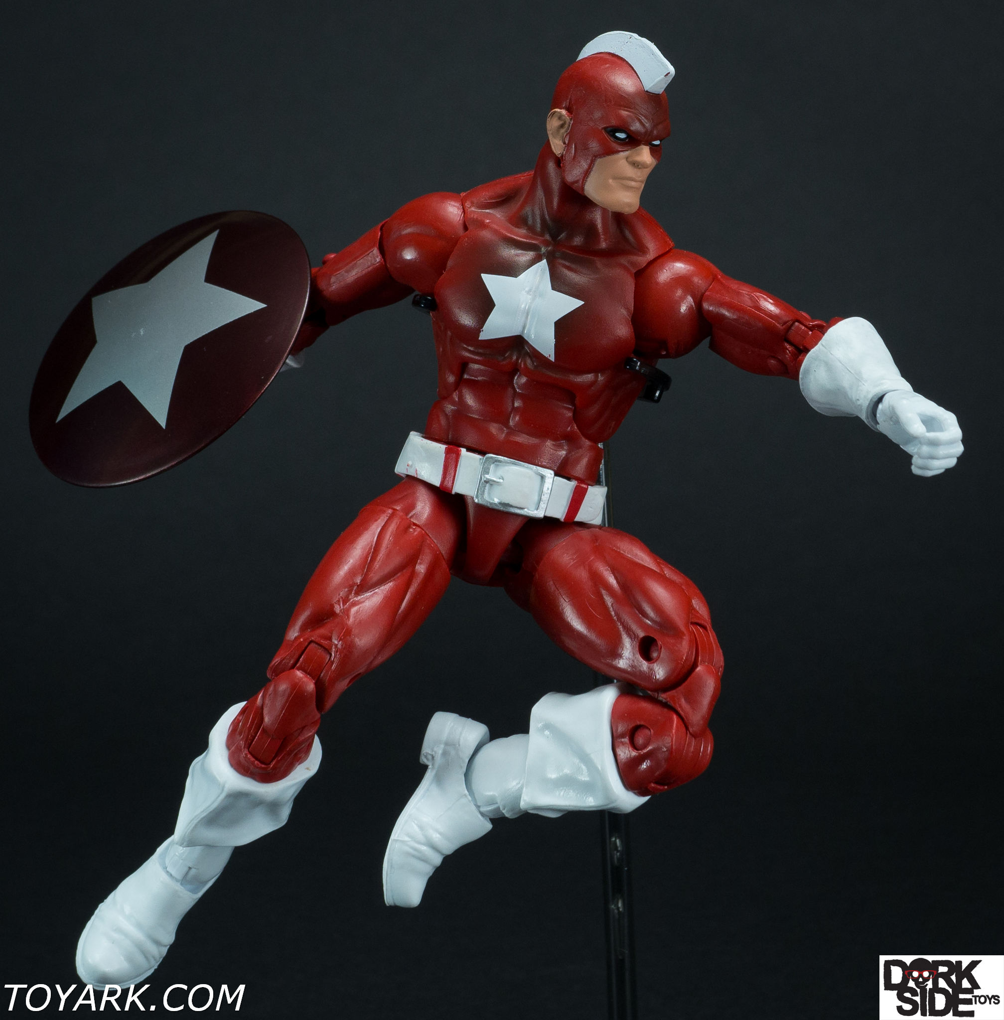 Marvel Legends Captain America Red Guardian with BAF Piece Giant Man