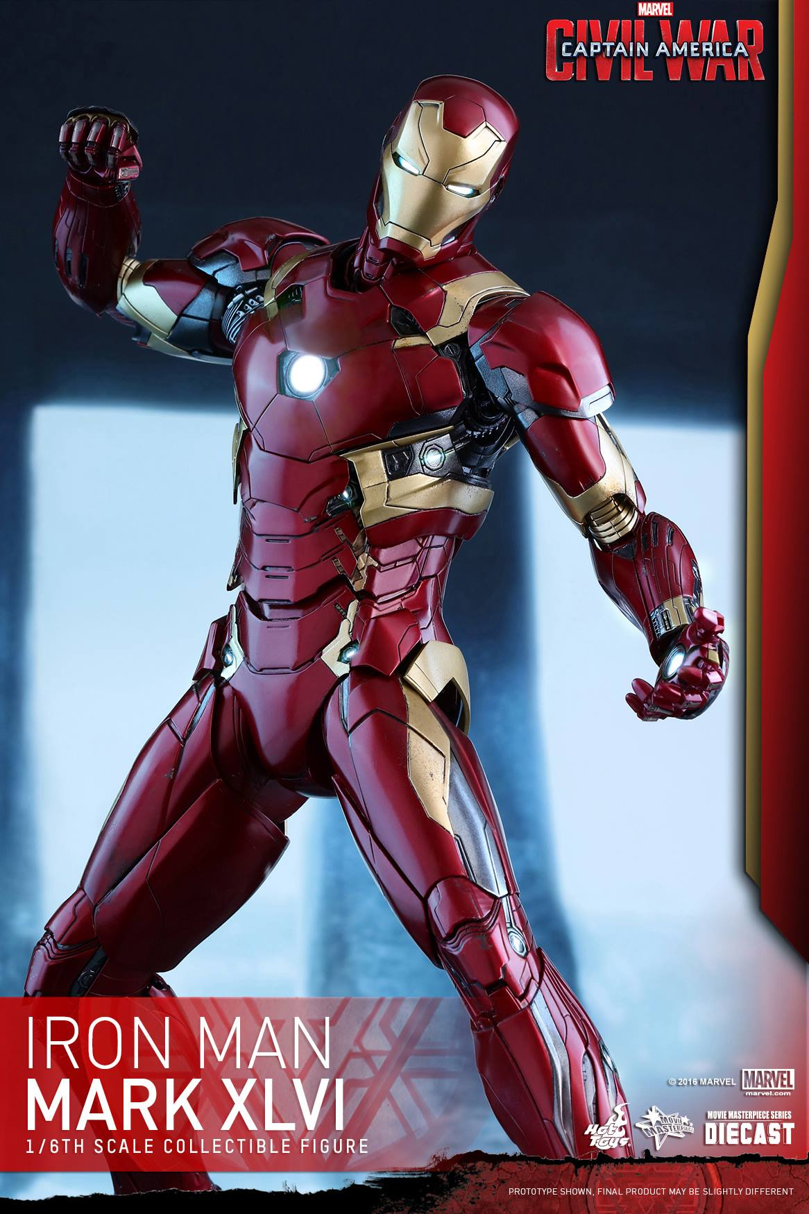 Hot Toys Diecast Captain America: Civil War - Iron Man ...
