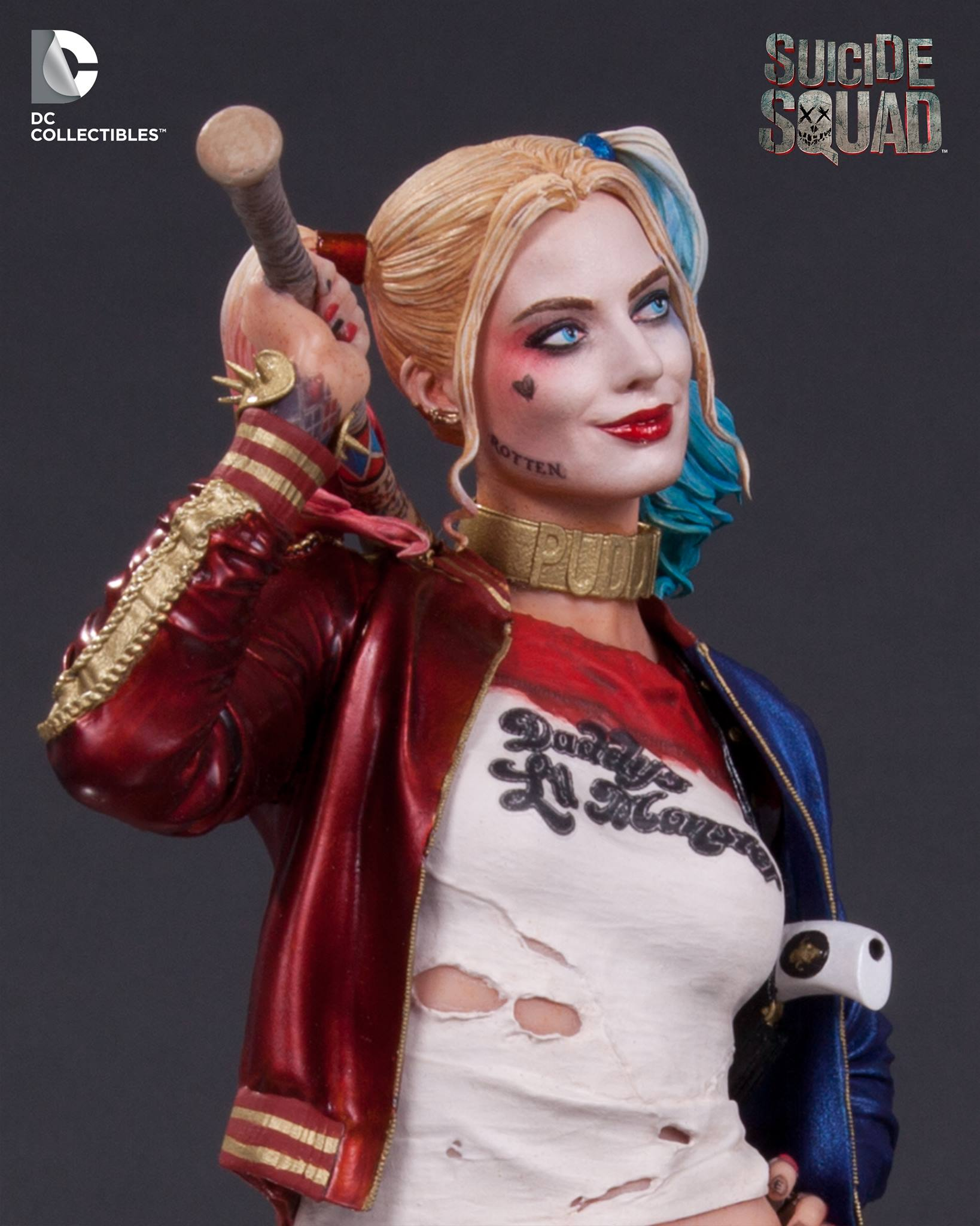 "Crazy Toys Figure DC Comics Harley Quinn Suicide Squad 12/"" Classic Collectible"