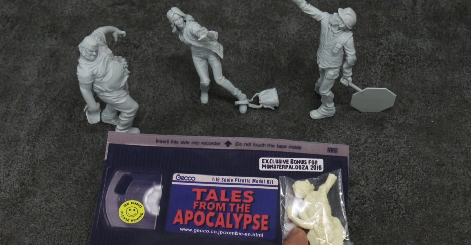 Gecco Mosterpalooza Exclusive Zombie Model Kit - The Toyark