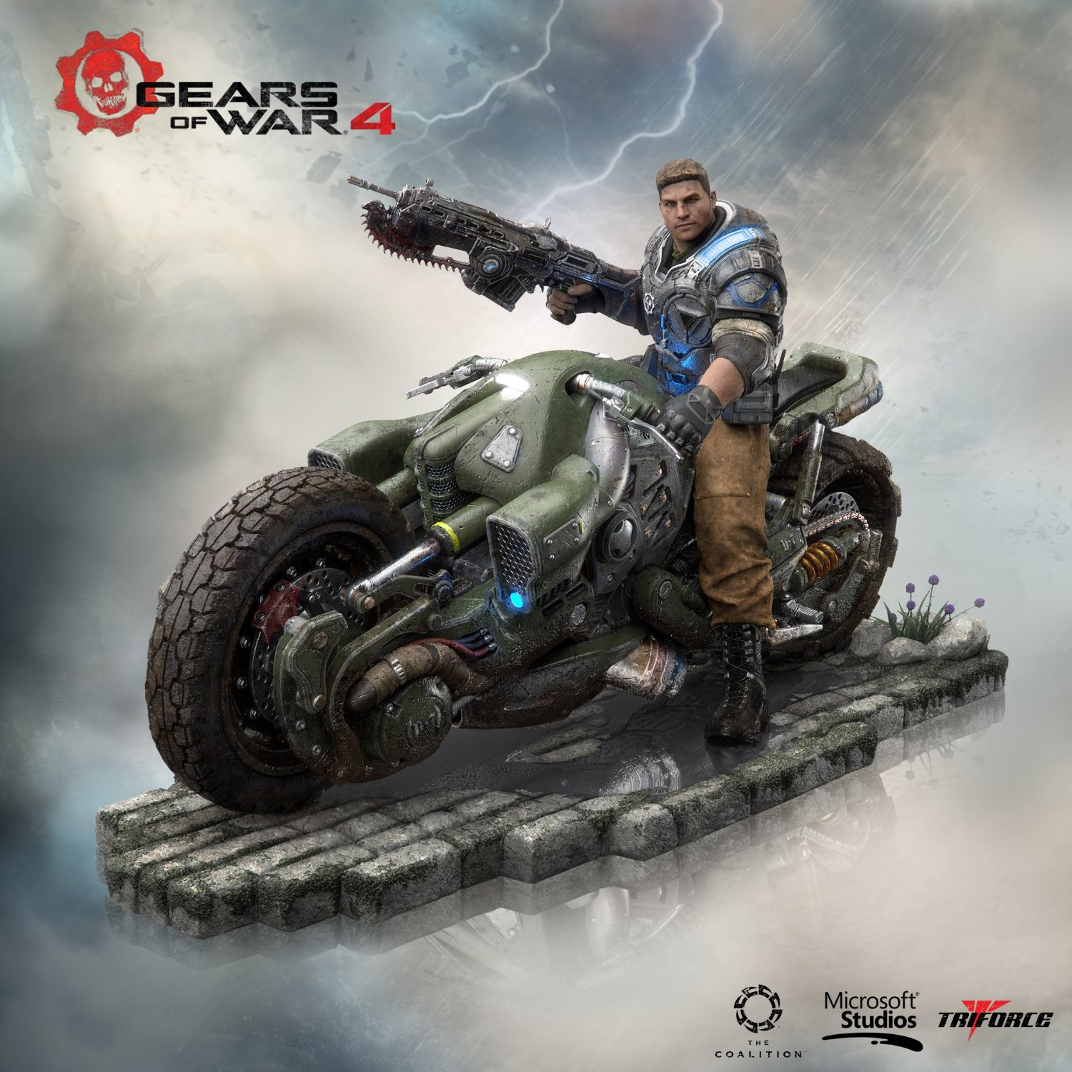 triforce xbox one gears of war 4 collector 39 s edition the. Black Bedroom Furniture Sets. Home Design Ideas