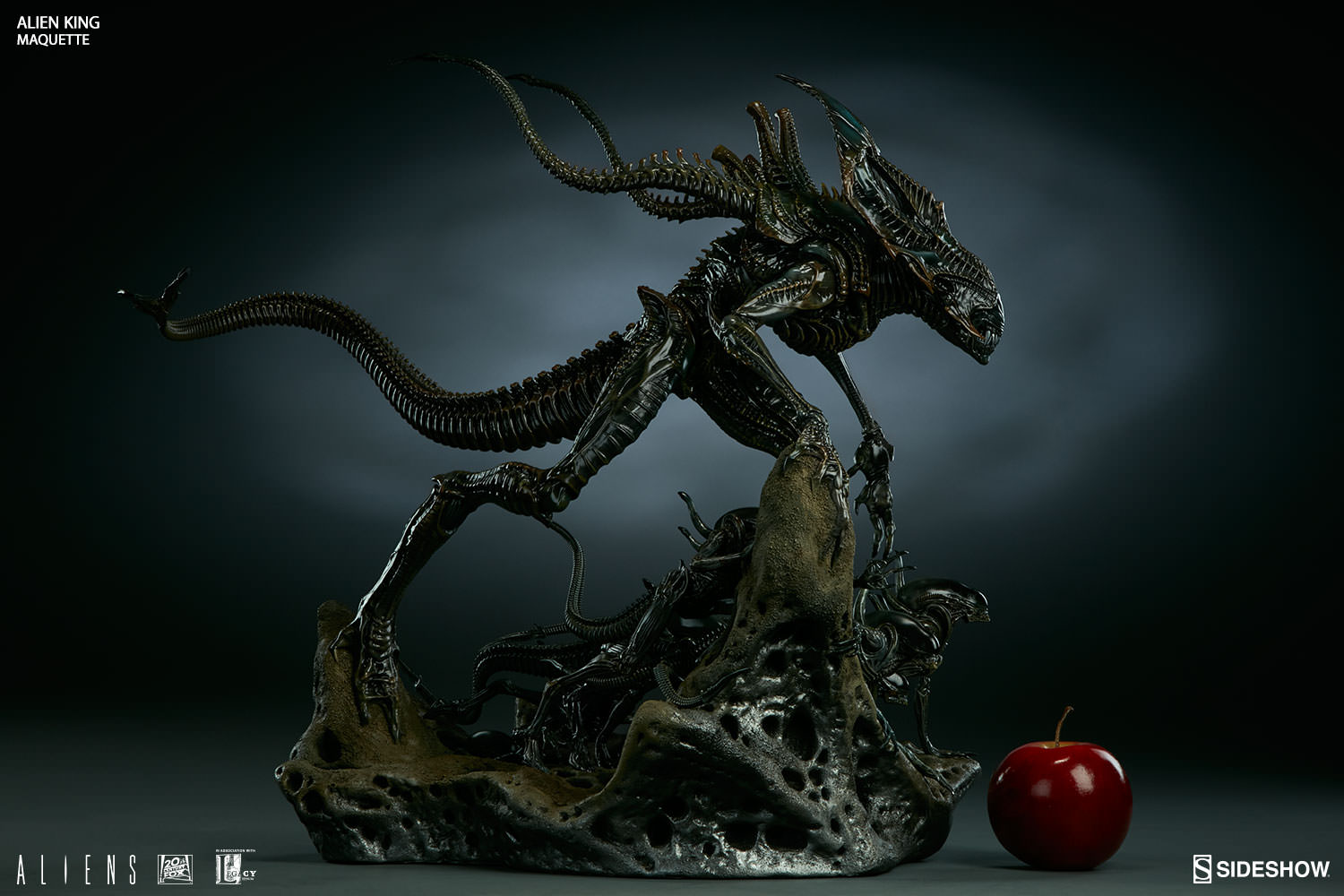 Alien King Maquette Photos and - 148.3KB