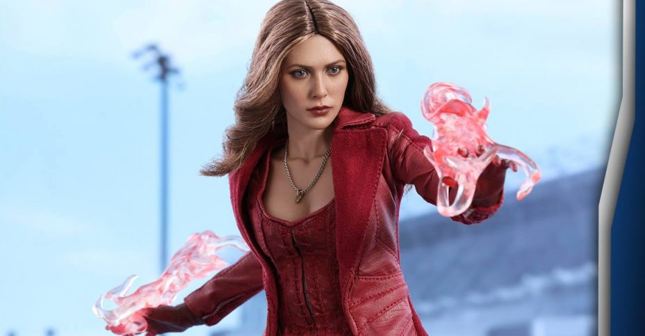 Civil War Scarlet Witch Figure By Hot