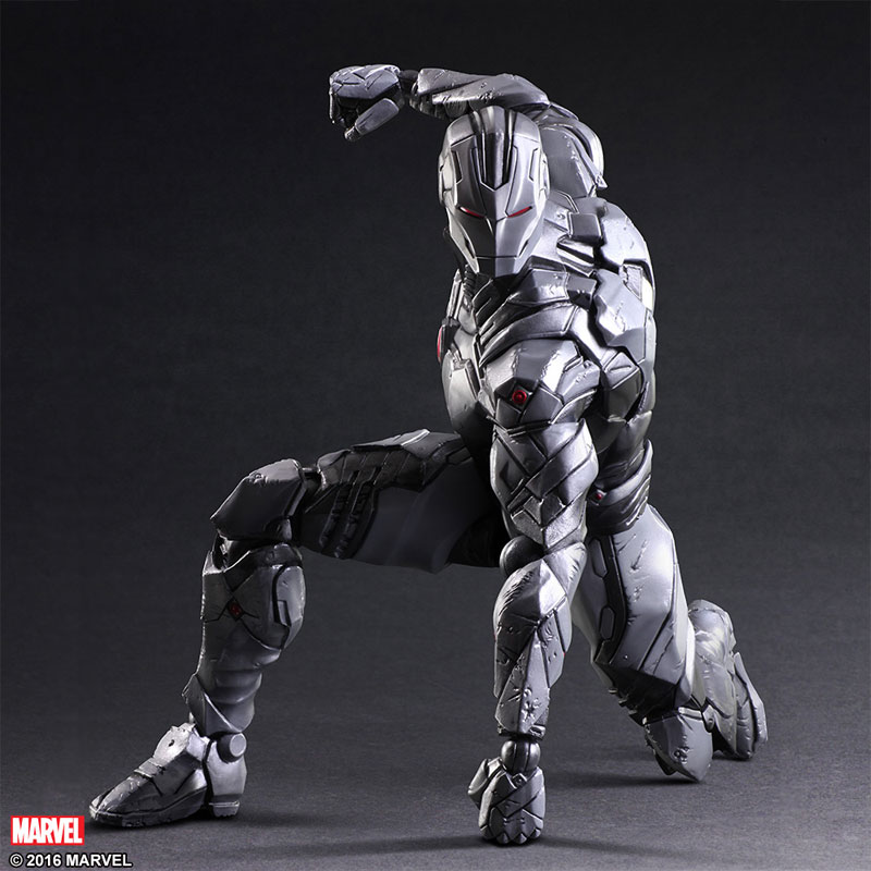 Marvel Play Arts Variant Spider Man Venom And Iron Man