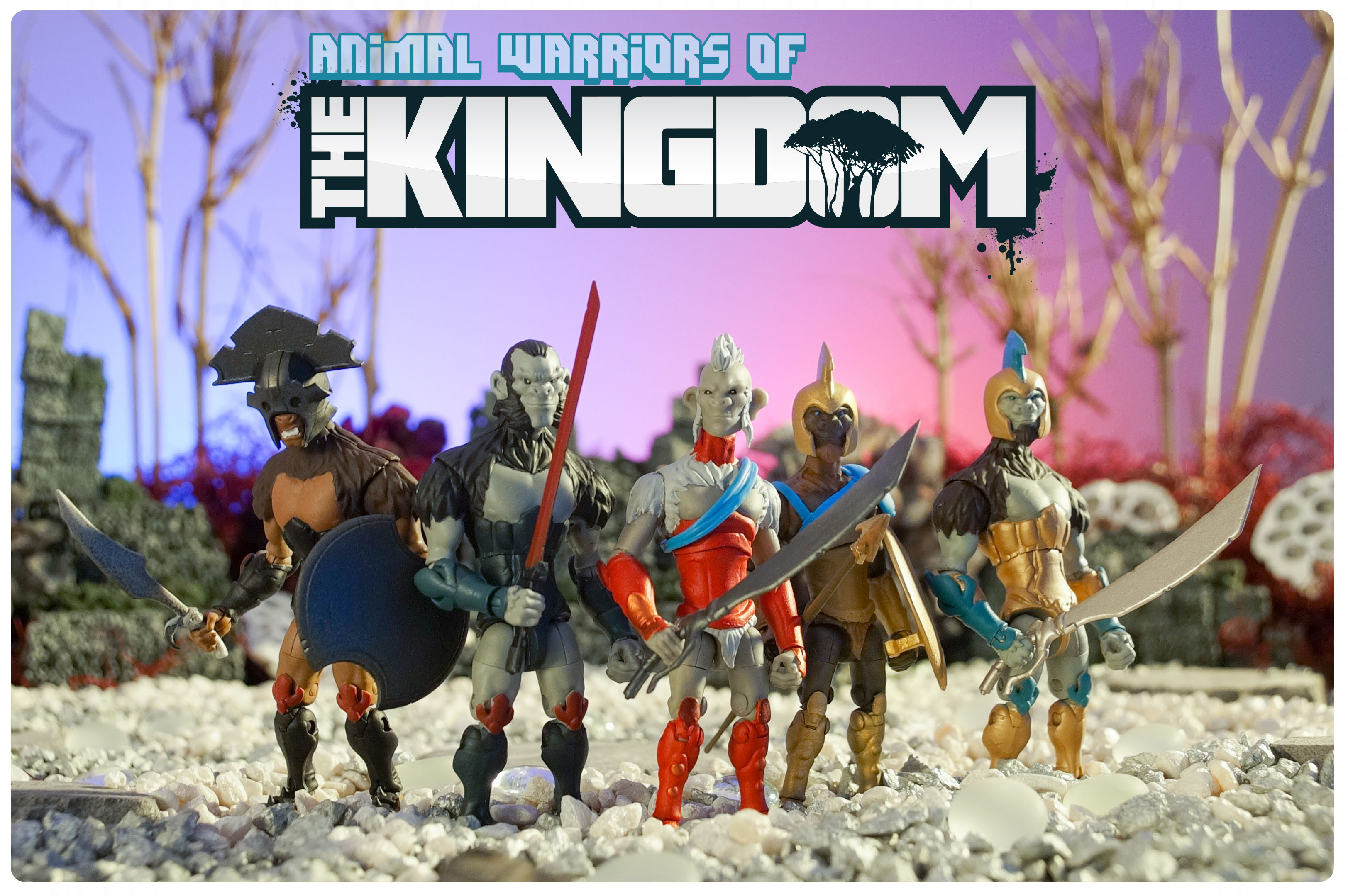 Less Than 48 Hours To Back Animal Warriors of the Kingdom by Spero