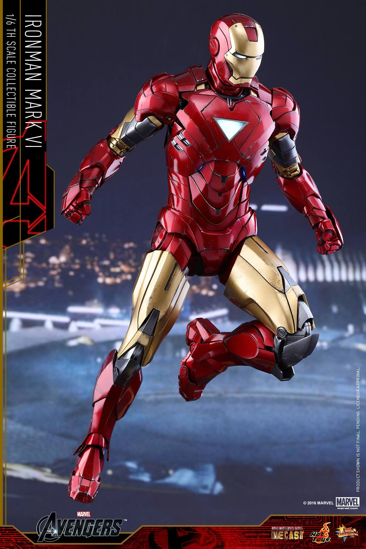 hot toys iron man sub-zero mark vii and diecast mark vi - the toyark