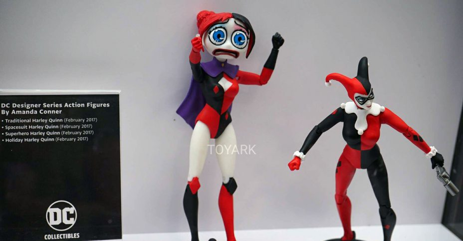 Amanda Conner Holiday Harley Quinn Actio DC Collectibles Comics Designer Series