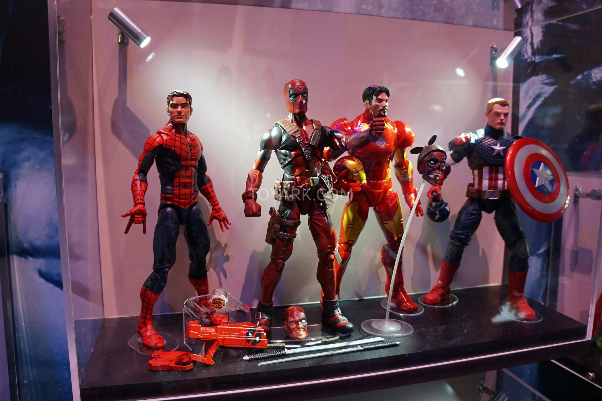 Sdcc 2016 Hasbro Marvel Legends 12 Inch Deadpool The