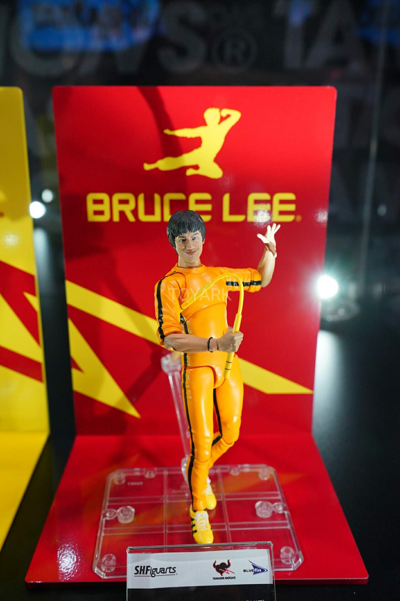 Action Figure S.H.Figuarts SHF BRUCE LEE The Game of Death Yellow Track Suit