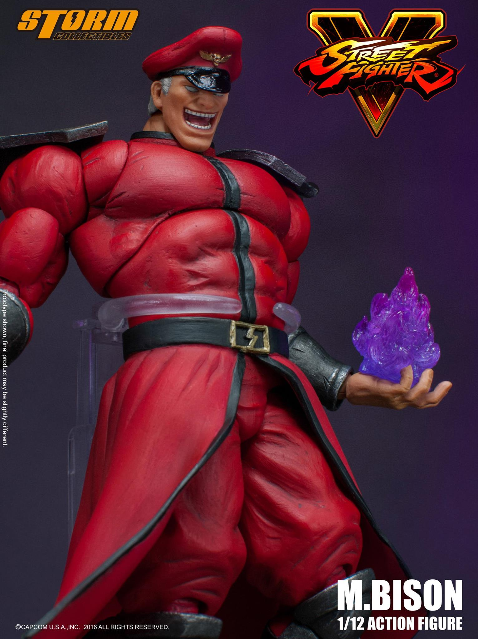 Preview Storm Collectibles Street Fighter V M Bison The Toyark
