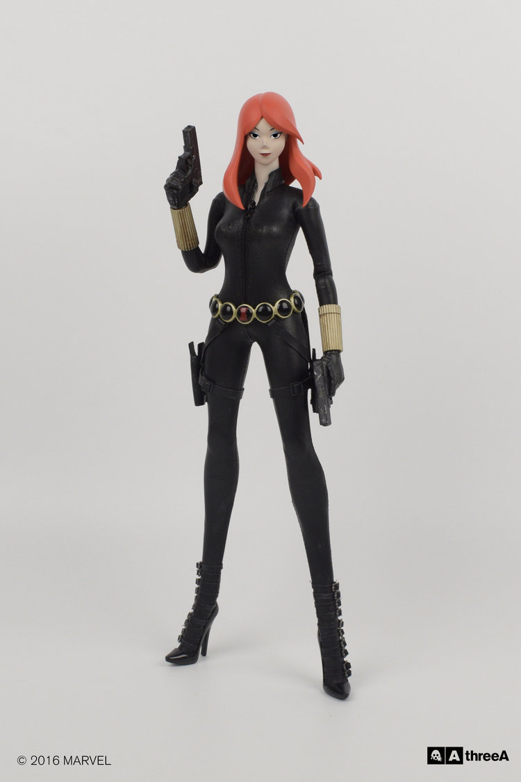 Black Widow ThreeA 1//6 Collectible 3A Figure Marvel