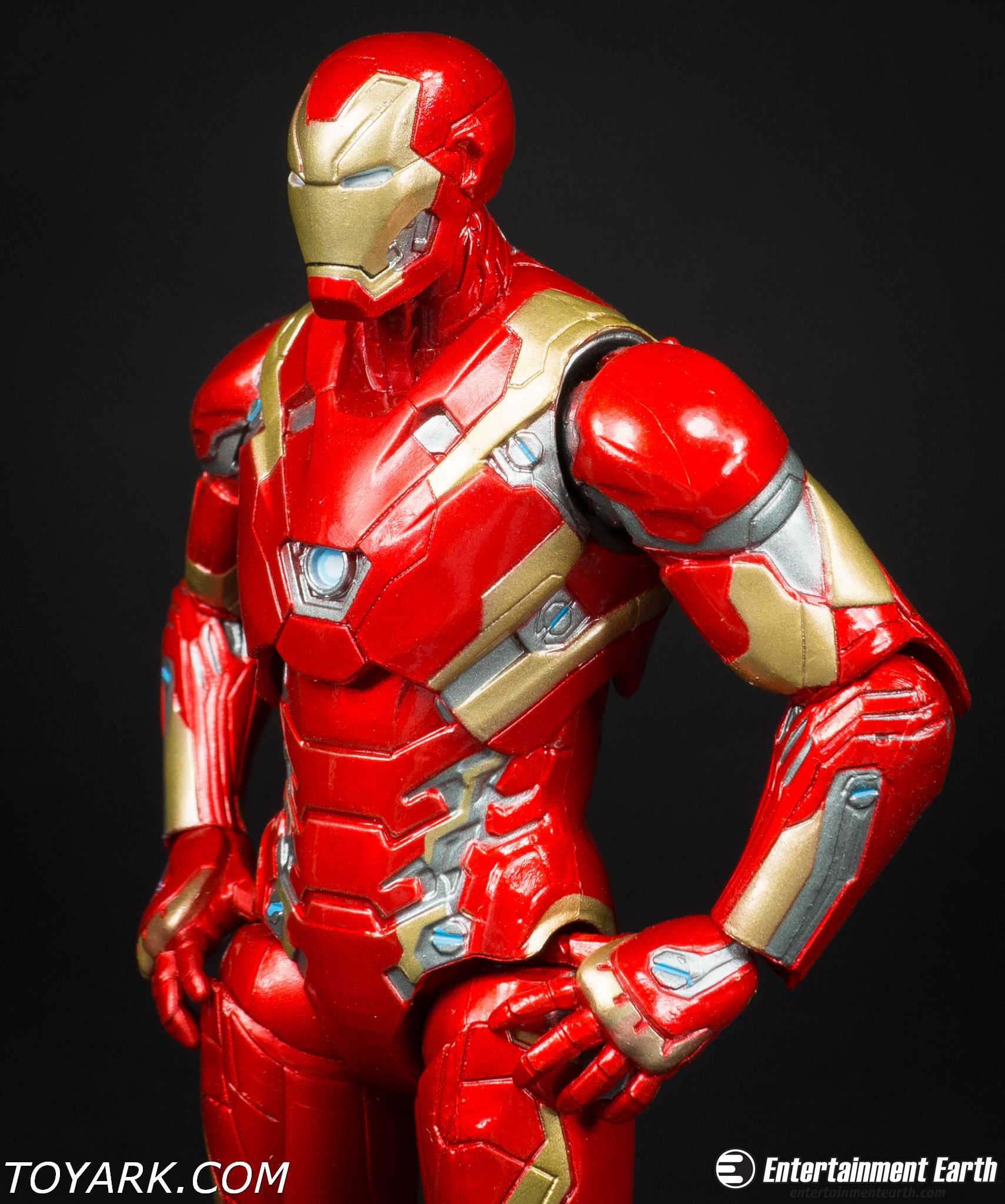 720 iron Man Marvel select Mark 43 review