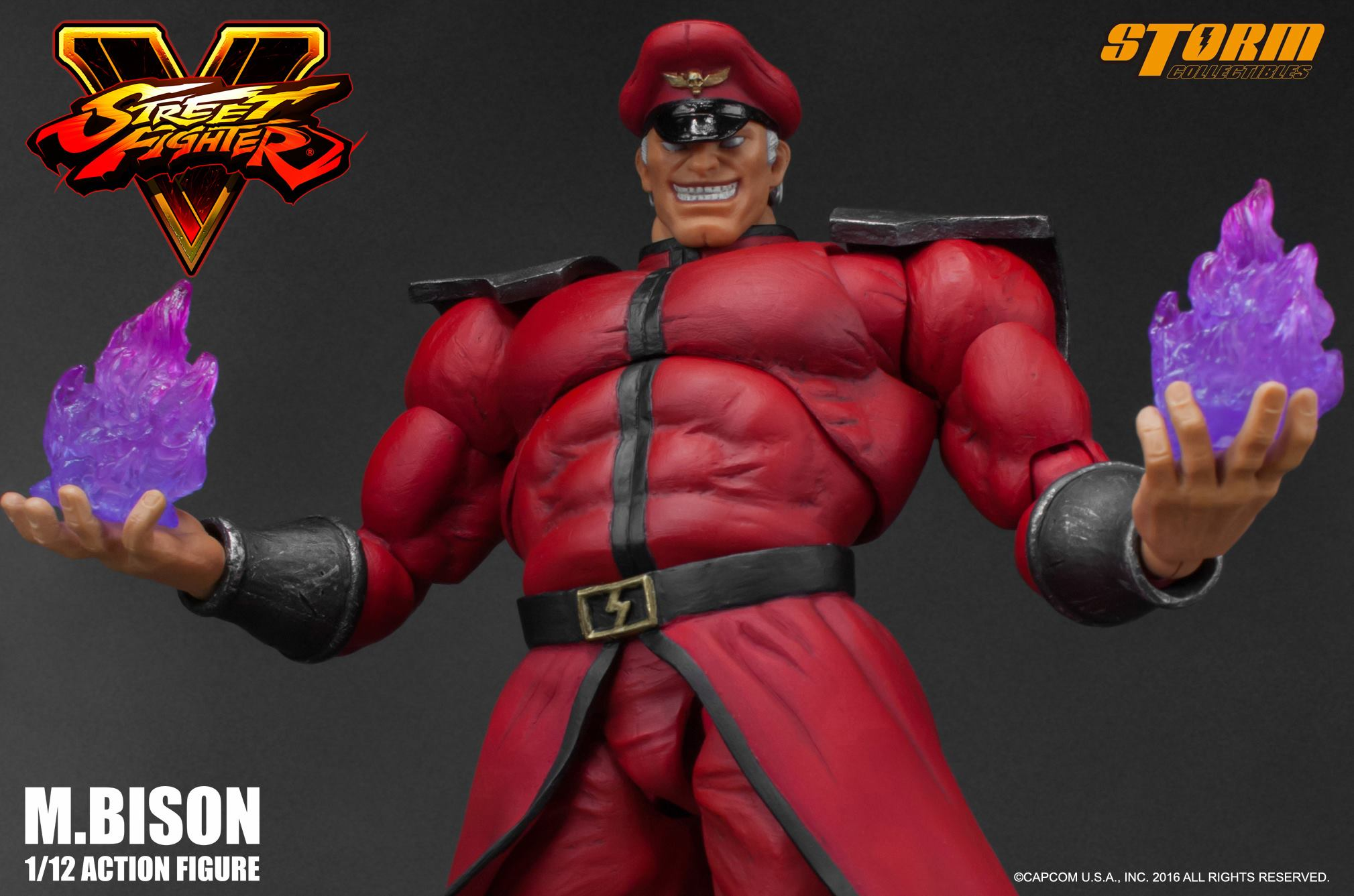 Street Fighter V M Bison Figure By Storm Collectibles The