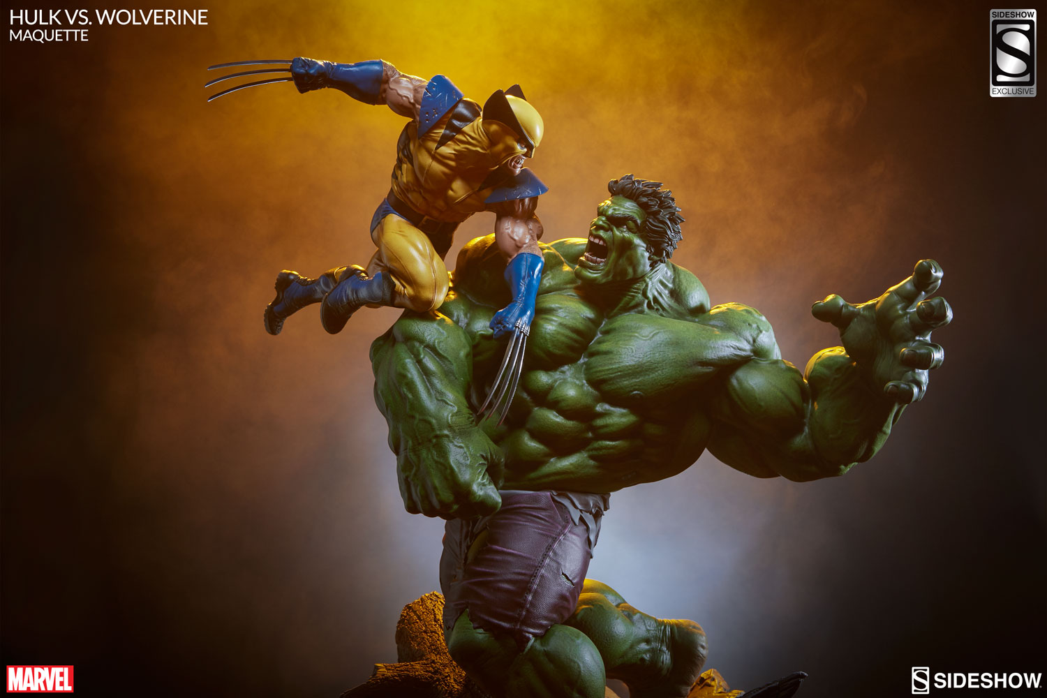 "Marvel Hulk vs Wolverine 14/"" Statue Figure Marvel Comics  18"