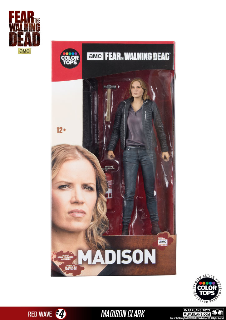 AMC Fear The Walking Dead McFarlane Toys Madison Clark Action Figure New In Box