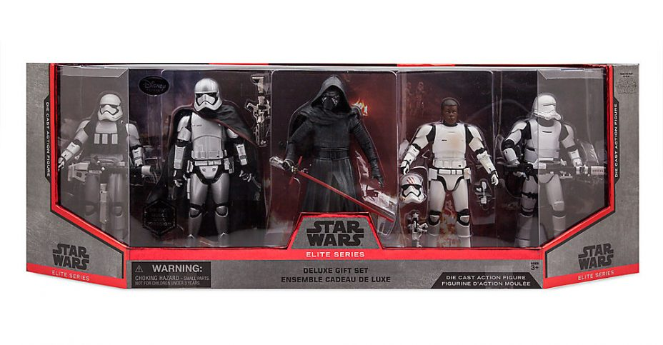 BRAND NEW DISNEY Star Wars The Force Awakens Elite Series Finn Diecast Figure