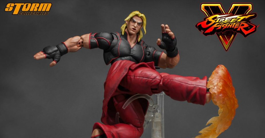 Storm Collectibles Street Fighter V Ken Photos And Details The Toyark News