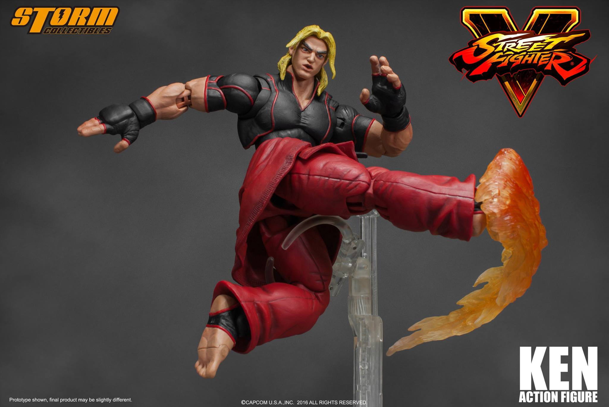 Storm Collectibles Street Fighter V Ken Photos And Details The