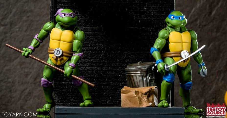 S H Figuarts Tmnt Leonardo And Donatello Gallery The Toyark News