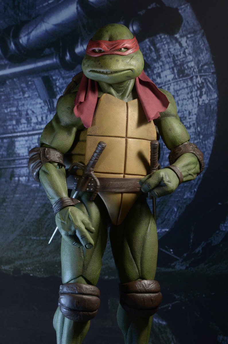 Neca 1 4 Scale Tmnt 1990 Movie Raphael Official Photos And Info