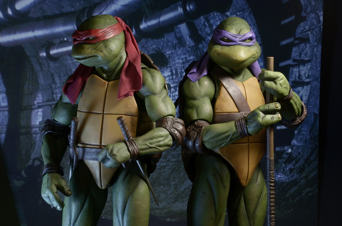 Neca 1 4 Scale Tmnt 1990 Movie Raphael Official Photos And