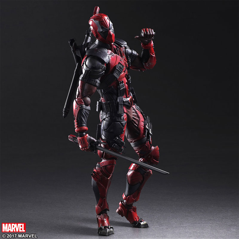Play Arts Variant Deadpool 001