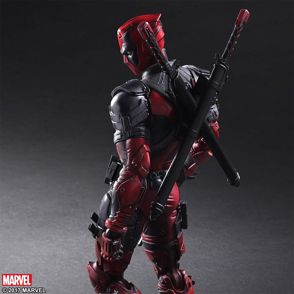 Play Arts Variant Deadpool 003