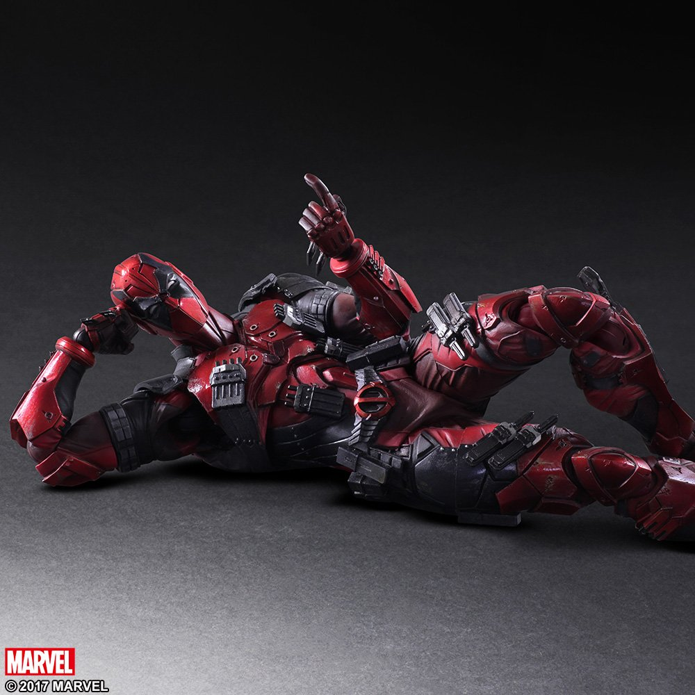 Play Arts Variant Deadpool 004