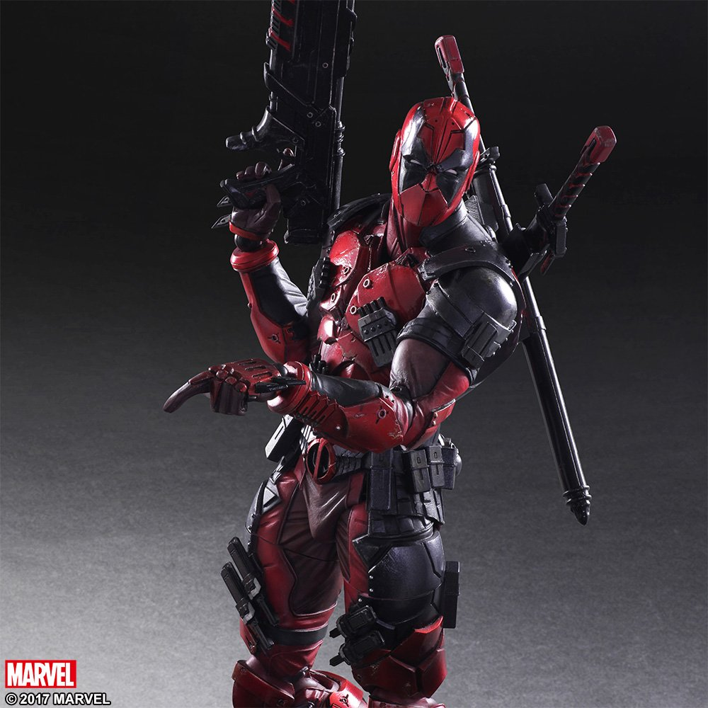 Play Arts Variant Deadpool 005