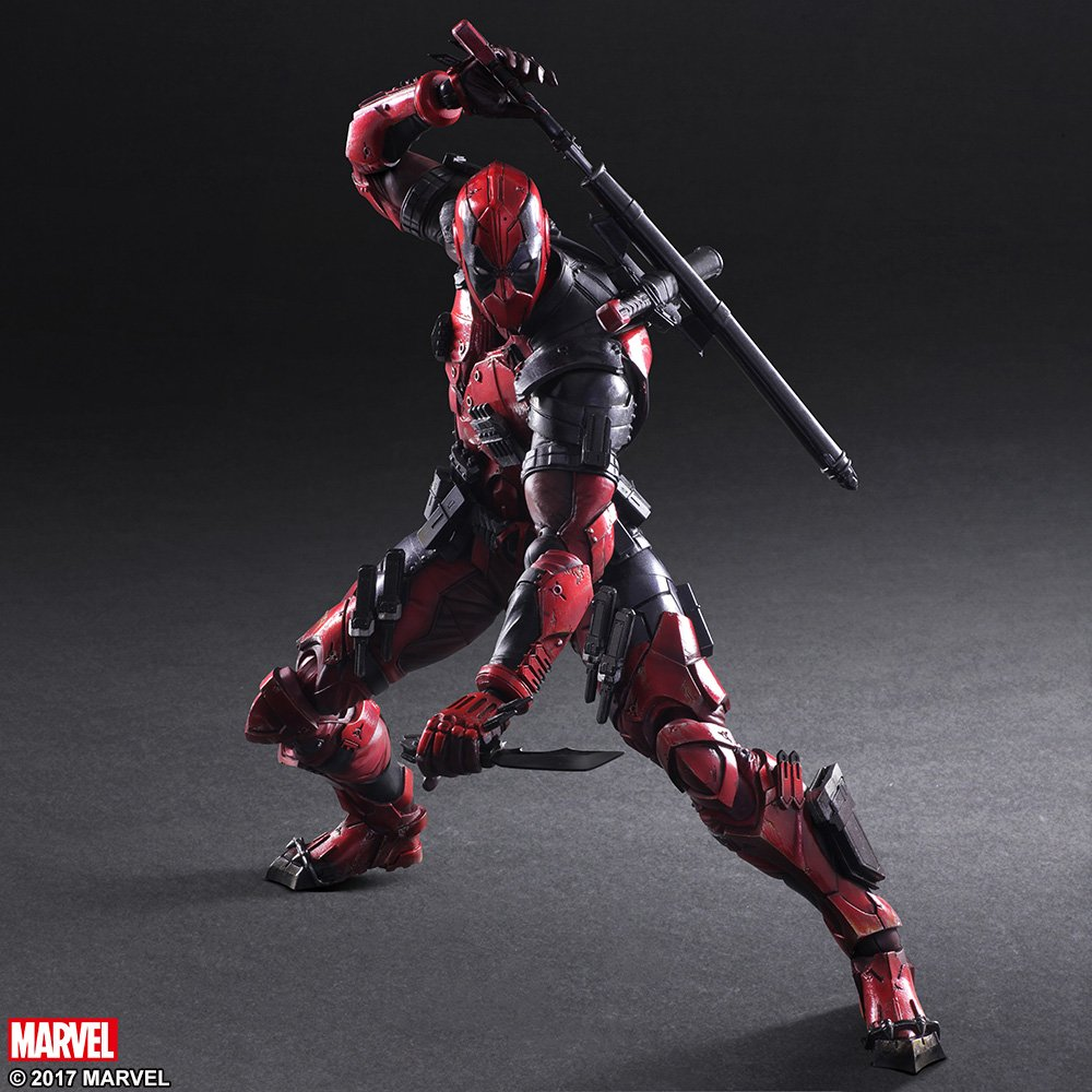 Play Arts Variant Deadpool 006