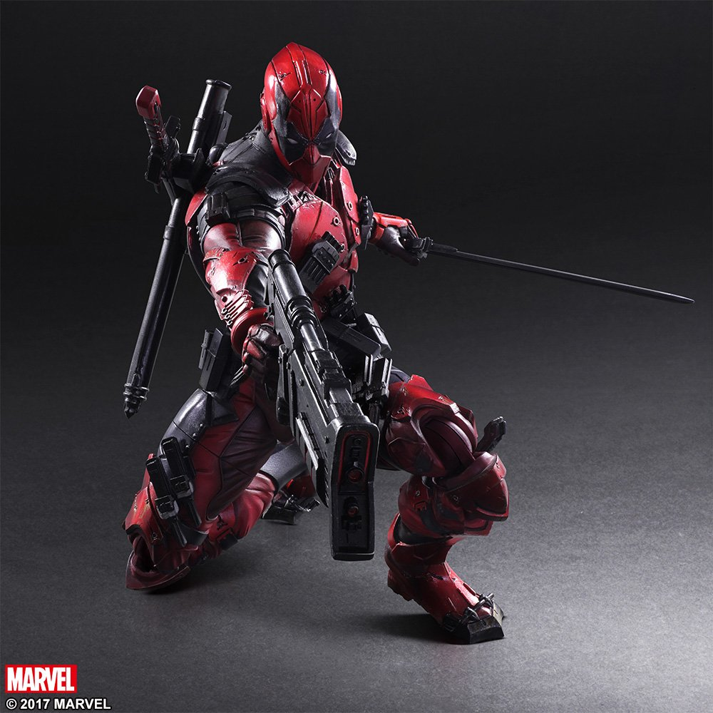 Play Arts Variant Deadpool 007