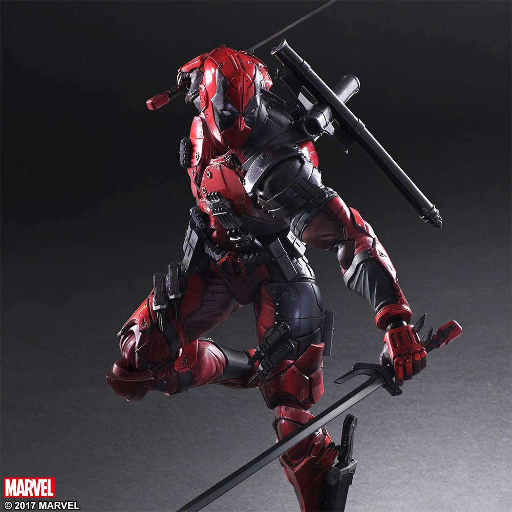 Play Arts Variant Deadpool 008