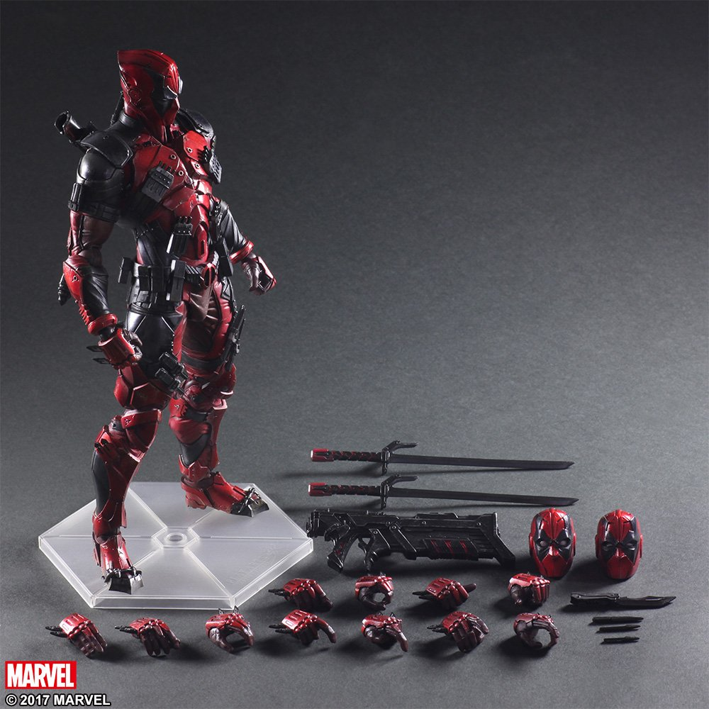 Play Arts Variant Deadpool 010