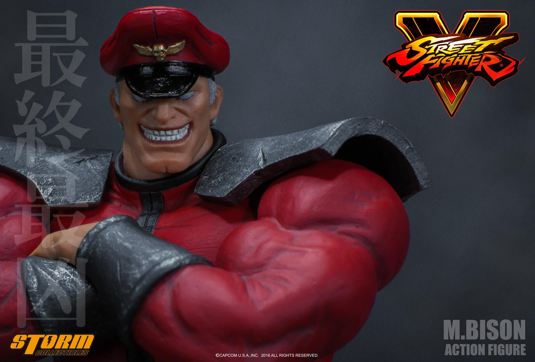 Update On Street Fighter V M Bison Figure By Storm Collectibles